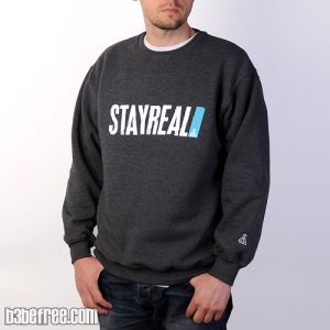 B3-BeFree Bluza / Standard / Stay Real